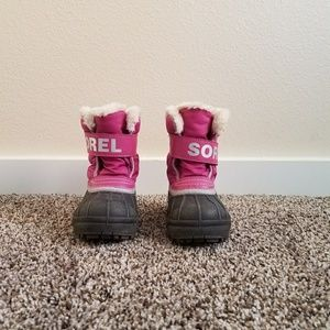 Sorel Commander Toddler Boots